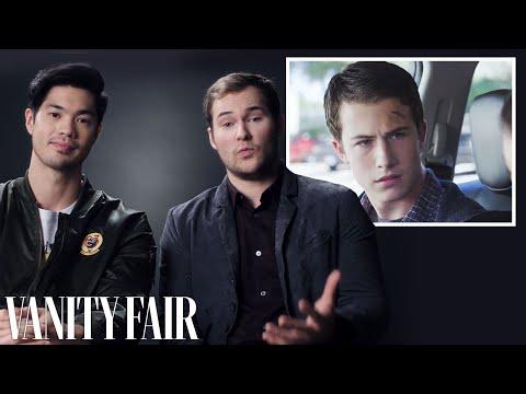 13 Reasons Why's Justin Prentice & Ross Butler Recap Season One | Vanity Fair