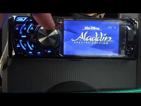 Boss 3.6 dvd, mp3, sd/usb, Bluetooth indash car stereo