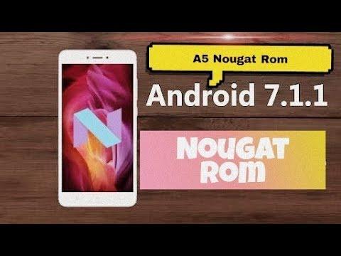 Galaxy A5 Nougat Rom lite J2 2018 port