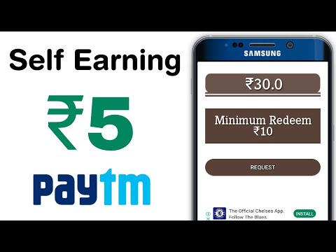 Repeat ₹50 Paytm Cash Self Earning App For Android | Best