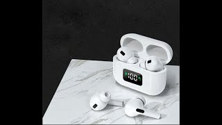 Tai Nghe Bluetooth Apro 3 Wireless 5 0, Màn Hình Led Kỹ Thuật Số Hiển Thị Pin   Âm Thanh Sống Động