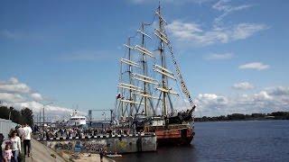 Крузенштерн День города Архангельск 28 июня 2015(Барк