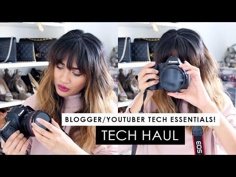 TECH HAUL! Blogger & Youtuber Tech faves/essentials!!