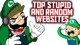 TOP USELESS, STUPID AND RANDOM WEBSITES TO EVER EXIST! | LUIGIKID