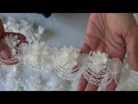 Floral Lace Trim Haul