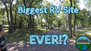 Biggest RV Site Ever? || Mİll Point RV Park || Illinois || Fulltime RV Living