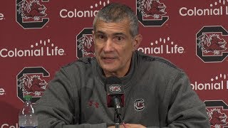 Frank Martin News Conference — 12/4/17