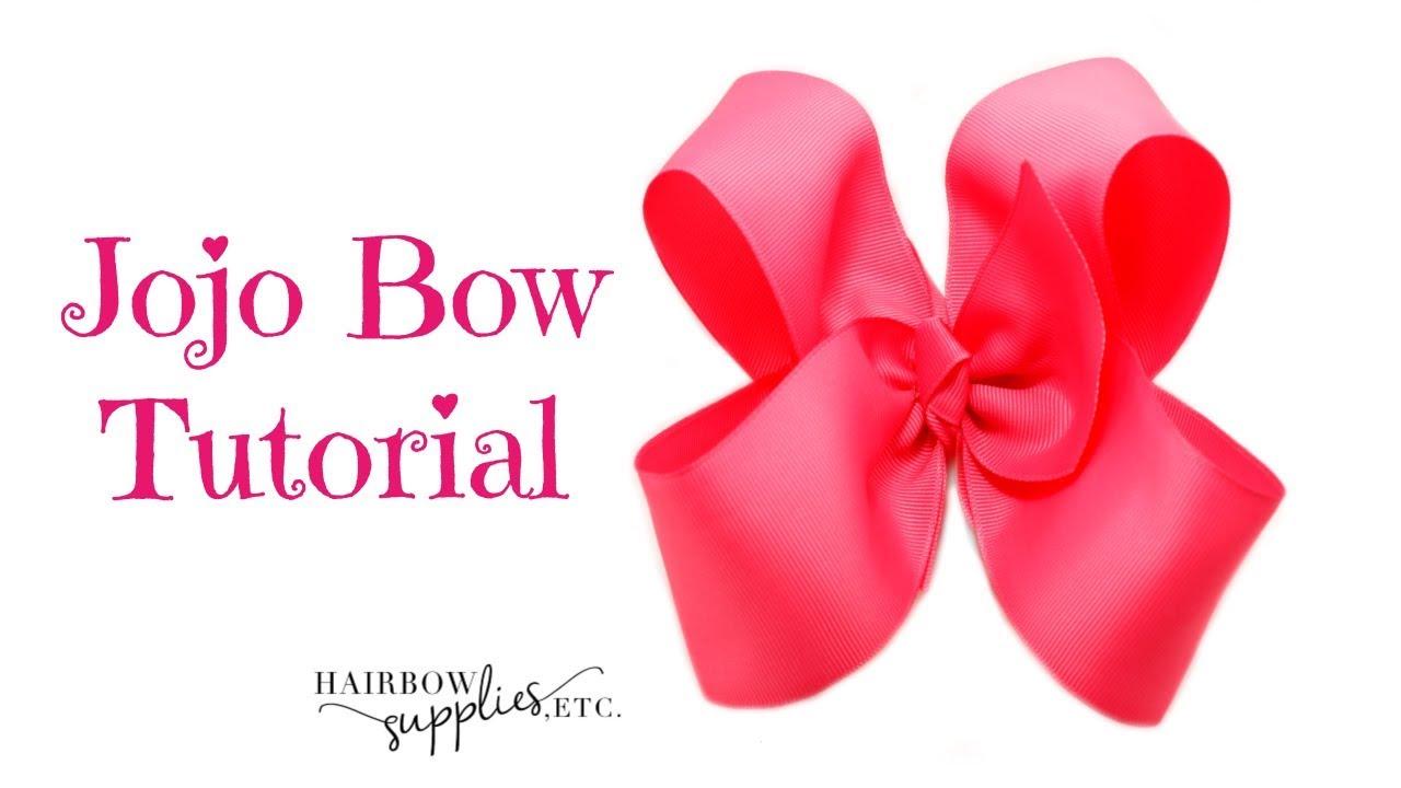 "Huge 7"" JJ STYLE girls hair bow 7"" bow"