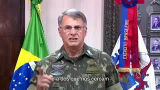 Mensagem do Gen Pujol Cmt do Exército