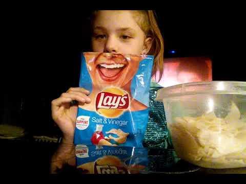 Salt and vinager chips