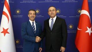Dışişleri Bakanı Sayın Çavuşoğlu'nun KKTC Dışişleri Bakanı ile Ortak Basın Toplantısı