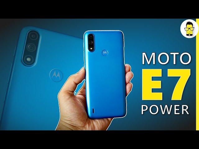Moto E7 Power Review - Power packed performer for Rs 7,499 | COD Mobile, Audio Test & Battery