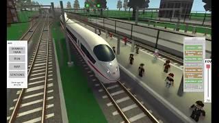 Roblox-ferrovias terminal-alta velocidade ICE