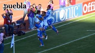Puebla vs Querétaro 4-1, Jornada 8, Liga MX 2015, Goles
