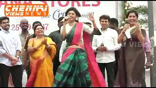 Saravana Stores The Crown Mall showroom launched at OMR Popular Act...