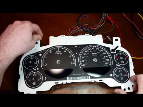 Watch me Repair GM Chevy 2007 + Cluster Odometer Display