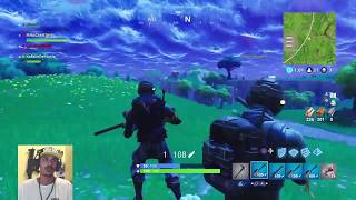 LIVE IN PURSUIT OF VICTORIES WITH MY NEW SKIN AT FORTNITE # 4