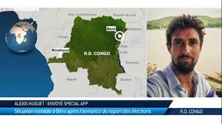 Présidentielle en RDC : au lendemain de l'annonce du report de l'él...