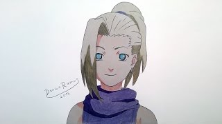 How to draw Ino Yamanaka | speed drawing