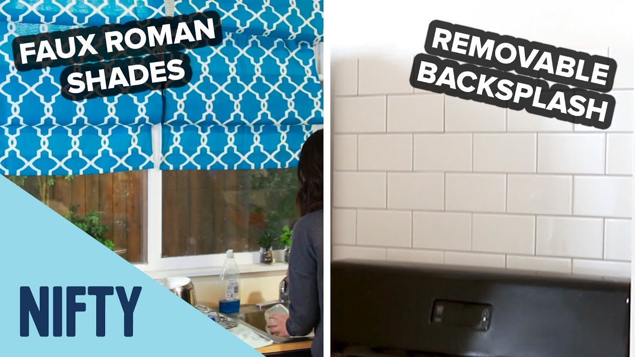 4 Easy Kitchen Projects For An Instant Space Lift
