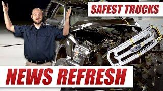 Which Pickup Truck Is The Safest? Ford F-150 Vs Toyota Tundra Vs RAM 1500 Vs Chevrolet Silverado