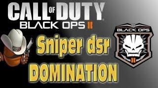 "Black Ops   sniper gameplay DSR-50 ""semos maletas con el beaner"""