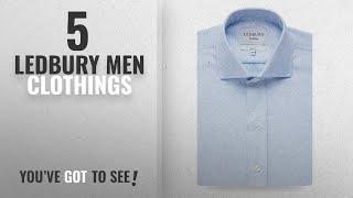 Top 10 Ledbury Men Clothings [ Winter 2018 ]: Ledbury The Blue Royal Oxford Dress Shirt