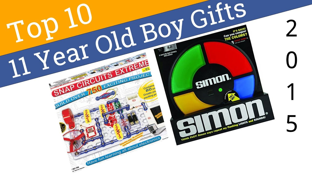 10 Best 11 Year Old Boy Gifts 2015 Youtube