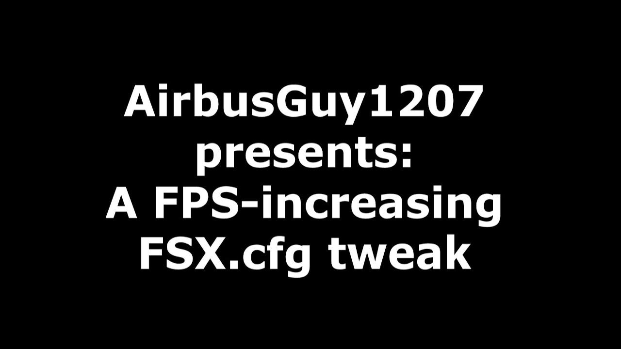 fsx fps booster