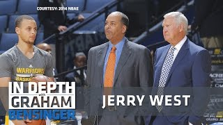 Jerry West: Steph Curry's finesse vs. LeBron's force