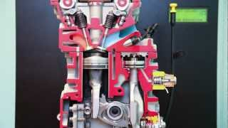 Maquette animée du moteur MCE-5 VCRi