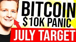 BITCOIN PANIC - $10K NEXT?! 🚨 July Price Targets, ChainLink ($LINK) Code Review