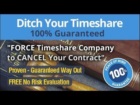 Cancel Timeshare Legally .com (855) 912-7008 Cancellation Program