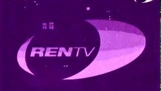 Заставка (РЕН-ТВ, 1997-1999) Кошка (фиолетовая)