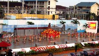 Alay Performing Arts from Municipality of LILOY, Zamboanga del Norte-Sinulog Mardi Gras 2012