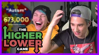 WELTREKORD mit REZO beim Higher Lower Game? I Julien Bam Twitch Highlight