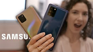 Galaxy S10 Lite and Note 10 Lite: hands-on