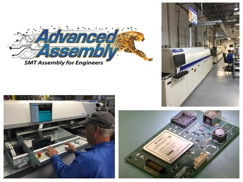 Advanced Assembly's Quick-Turn PCB Assembly Process