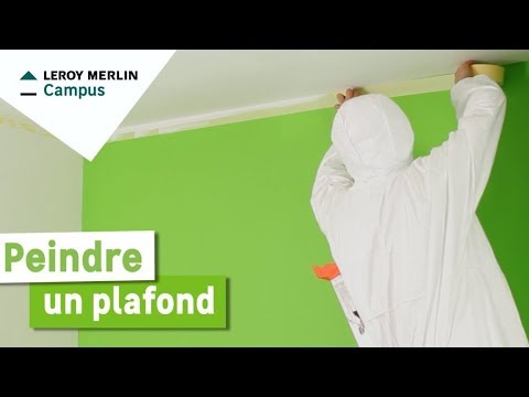 Comment Peindre Un Plafond Leroy Merlin Youtube