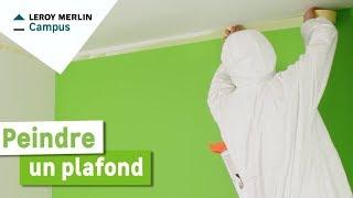 Comment peindre un plafond ? Leroy Merlin
