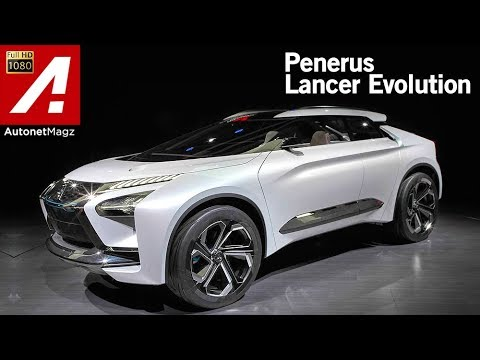 Mitsubishi e-Evolution Concept First Impression Review at Tokyo Motor Show 2017