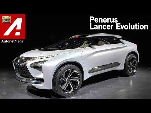 Mitsubishi e-Evolution Concept First Impression Review at Tokyo Motor Show 2017