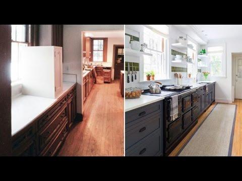 Cocinas antes y despu s kitchens before and after youtube - Casas reformadas antes y despues ...