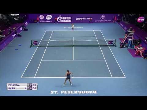 2018 St. Petersburg Open Day 1 | Shot of the Day | Anastasia Potapova