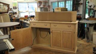 A Pop Up Tv Cabinet In Action