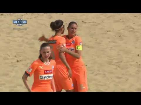 LADIES Beach Soccer Euro Winners Cup 2016  GRASSHOPPER CLUB ZURICH SUI vs WFC ZVEZDA RUS