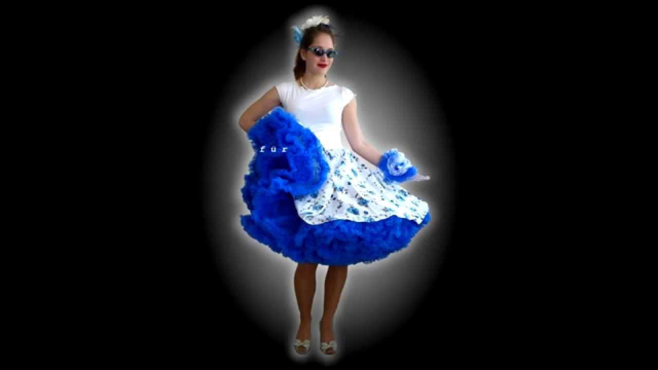 Von TELLERKLEID bis PETTICOATROCK / From circledress to petticoatskirt