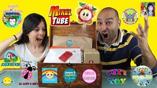SUPER UNBOXING DE REGALOS DE YOUTUBERS Amigos 🎁🎁