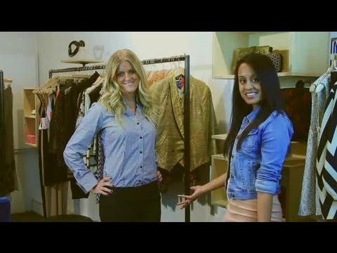 How to Wear Suit Pants : Fashion Tips for Women