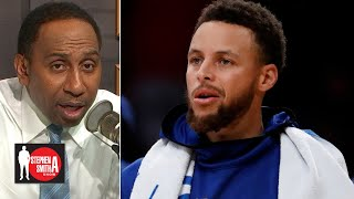 Stephen A. is not surprised Steph Curry got injured | Stephen A. Smith Show